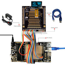 "8051 Microcontroller Development Board Kit USB Programmer for 1.5""OLED Display"