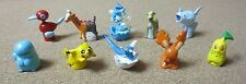 Vintage Genuine Lot of 10 Pokemon Pencil Toppers Top Figures Rare HTF 90s PG1241