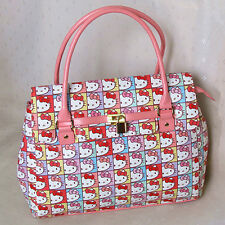 HelloKitty Lock  Handbag Tote Shoulder Bag 2017  New  Pu Cute   Multi-color