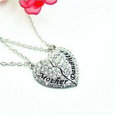 Fashion Jewelry Mother and Daughter Necklace Best Friend Pendant Necklace Gifts