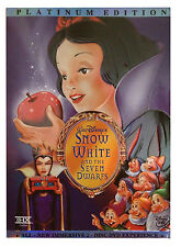 Snow White and the Seven Dwarfs (DVD, 2001, 2-Disc Set, Platinum Edition)