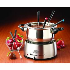 Nostalgia Electrics FPS200 Stainless Steel Fondue Pot