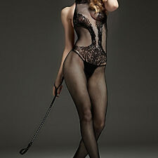 Women Lingerie Open Crotch Body Stocking Bodysuit Lady  Dress Sex Nightwear