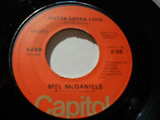 "MEL MCDANIELS NM Gotta Lotta Love 45 Have a Dream On Me 4249 Capitol 7"" vinyl"