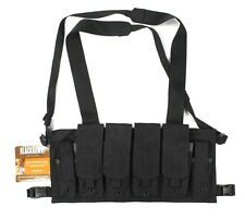 BlackHawk! Chest Pouches M16/M4 Rig in Black MOLLE NSW DEVGRU SOCOM *