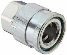 "Hydraulic Water-Blast Quick Fitting Coupler, 1/2"" Coupling x 3/8""-18 NPTF Female"