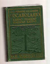 vocabolario latino italiano - italiano latino - campanini e carboni  -decga