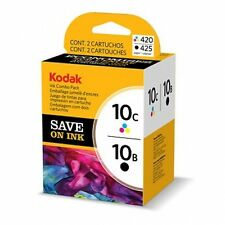 2/Pack Genuine Kodak 10 10C/10B Color Black Ink Cartridges ESP 3 3250 5 5250 7