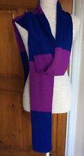 Señoras bufanda por Roxy Azul/Morado