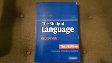 The Study of Language by George Yule (2005, Paperback, Revised)