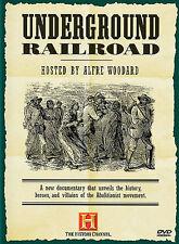 UNDERGROUND RAILROAD HISTORY CHANNEL DVD ALFRE WOODWARD JEFF LENGYEL