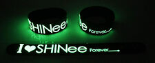 SHINEE NEW! Glow in the Dark Rubber Bracelet Wristband Why So Serious? gg54