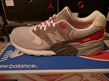 New Balance ML999GFR  Grey / Red 999 Mens Size 10.5 NEW