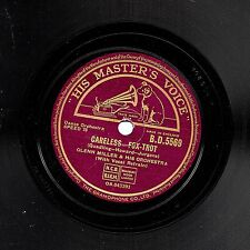"CLASSIC 1940 GLENN MILLER 78 "" CARELESS / INDIAN SUMMER "" UK HMV  BD 5569 EX/EX-"