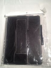 Apple ipad Leather Handle Strap Flip Smart Case Cover for Apple iPad 5 Blk