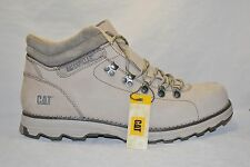 CAT CATERPILLAR MENS PEAK MID CUT MENS LEATHER BOOTS NEW SIMPLY TAUPE SIZE 13