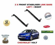 FOR CHEVROLET VOLT 2012-- ON NEW FRONT LEFT & RIGHT STABILISER SWAY LINK BAR SET