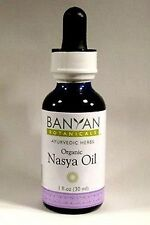 Banyan Botanicals NASYA OIL 1 FLOZ  - Sinus Relief - Breathing - Throat New!