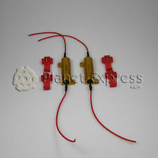2x Resistenze 50W 6 Ohm Errore Led Canbus Luce Giorno DRL Antinebbia H4 H7 H8