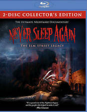 Never Sleep Again The Elm Street Legacy (Blu-ray) BRAND NEW SHIPS NEXT DAY AZ