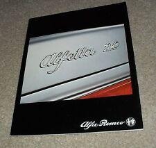 Alfa romeo alfetta 2000L full brochure 1981
