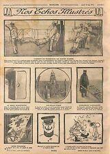 Transport Marins Blessés Chaise-Civière Cuirassé Marine Nationale/Bible WWI 1915