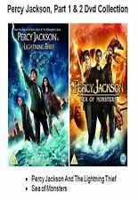 PERCY JACKSON DVD DOUBLE PACK PART 1 2 SEA OF MONSTERS LIGHTNING THIEF New UK
