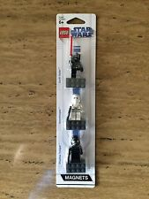 LEGO Star Wars Minifigure Magnet 3 Pack VADER, SNOW & SHADOW TROOPER NEW SEALED