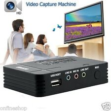 HDMI HD 1080P Video Capture Card Device TV YPbPr Game Recorder for Xbox 360 PS4