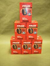 6 pack  Fram PH 3429 Extra Guard Oil Filter NEW   Pontiac, Oldsmobile,Cadillac