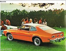 1977 Ford MAVERICK Brochure / Catalog with Specifications