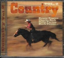 CD 17T COUNTRY DON GIBSON/KENNY ROGERS/LYNN ANDERSON/MERLE TRAVIS/CHARLIE RICH