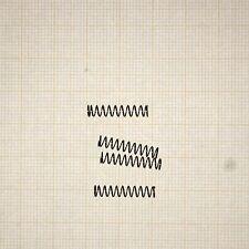 4 x Druckfeder, Länge 18mm, Außen Ø3,6mm, Drahtstärke 0,3mm