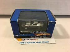 Hot Wheels  Ford Shelby GR-1 Concept * Silver * 1/87 Scale in Acrylic Case * H19