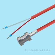 PT100 Ampoule de placement 5m Silicone Sonde pour placement de tube Chauffage