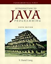 Introduction to Java Programming: Fundamentals First (6th Edition) (GOAL Series)
