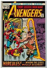 THE AVENGERS #99 1972 BARRY SMITH ART MARVEL BRONZE AGE!