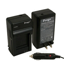 Progo Battery Charger for Fujifilm Fuji FinePix X-E1 X-E2 X-M1 X-A1 X-T1