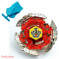 Beyblade BB116C HELL CROWN 130FB Metal Masters Fusion+Single spin Launcher