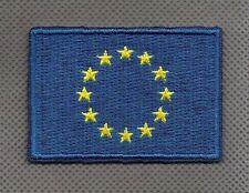 Flagge EU Flag Europa iron-on Aufnäher patch