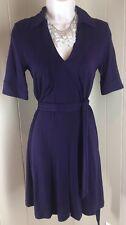 Banana Republic Dress XS Purple Shirt dress Rayon