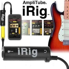 Hot iRig Guitar Interface Converter iRig guitar tuners For iPhone / iPad / iPod