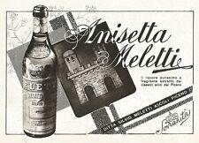W2726 Anisetta Meletti il liquore purissimo.. - Pubblicità del 1940 - Old advert