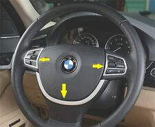 BMW 5 Series F10 520 523 525 2011-2013 GT Chrome Steering Wheel Cover trim