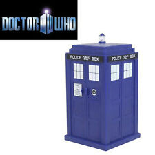 FIGURE DR DOCTOR WHO DOTTOR TARDIS TROTTOLA SPINNING PHONE BOX POLICE TV CABINA