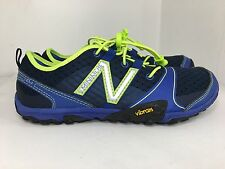 New Balance Men's MT10BY3 Minimus Trail Shoe, Blue/Yellow, 7 D US