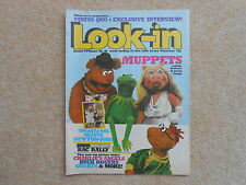 LOOK-IN MAGAZINE 1980 No 48 THE MUPPETS OLIVIA NEWTON JOHN