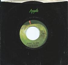 """BEATLES  70s Apple issue 7""""  TICKET TO RIDE w/Eight Arms To Hold You designatin"""