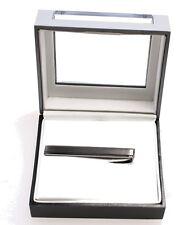 Geoffrey Beene NEW Metallic Silver Men's Accessory Neck-Tie Clip $25 #332