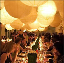 50 Led Ball Lamps Balloon Light for Lantern Wedding Party Decoration White OSB